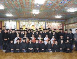 불교대학 3기 졸업식입니다.